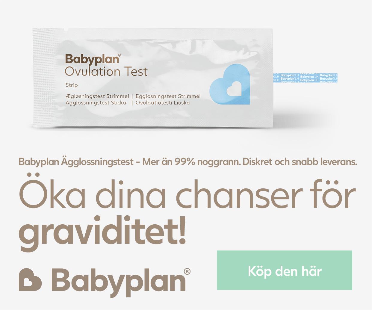 Babyplan Ägglossningstest sticka
