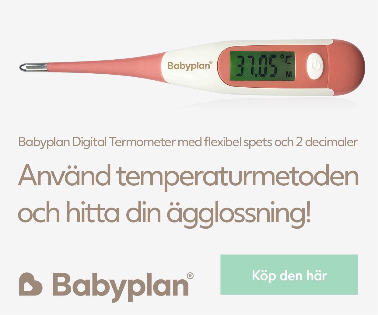 Köp Babyplan Digital Thermometer med flexibel spets här