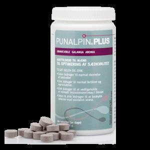 Punalpin® PLUS (180 tabletter/3 mån.) Granatäpple, galanga, aronia, zink, selen
