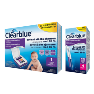 Clearblue Advanced Fertilitetsmonitor med teststickor