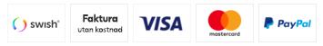 Her kan du betale med Dankort, VISA, MasterCard, Mobile Pay, ViaBill og PayPal